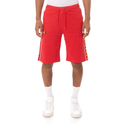 Kappa 222 Banda Cagway Shorts - Red