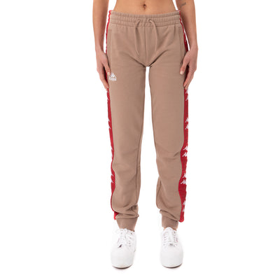 222 Banda Beicegel Sweatpants - Brown Red
