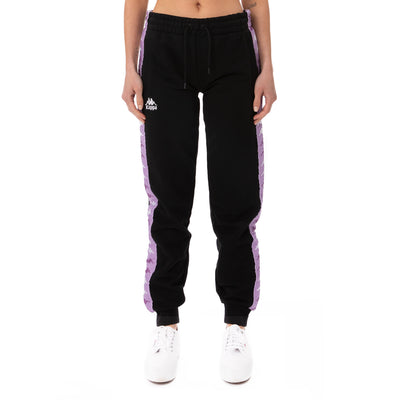 222 Banda Beicegel Sweatpants - Black Violet