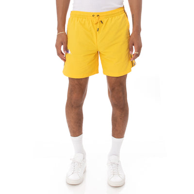 Kappa 222 Banda Xtabi Swim Shorts - Yellow
