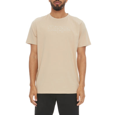 Authentic Lambro T-Shirt - Beige White