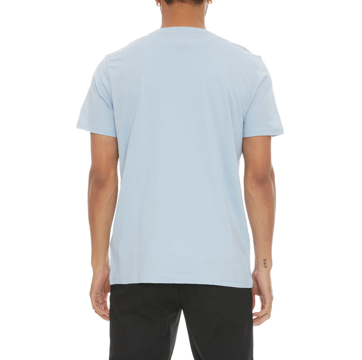 Authentic Lambro T-Shirt - Baby Blue White