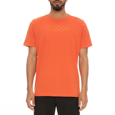Authentic Lambro T-Shirt - Orange White