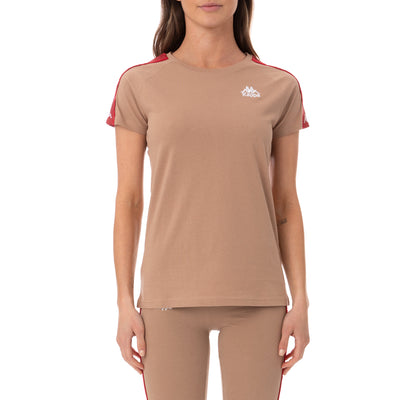 222 Banda Bayamon T-Shirt - Brown Red
