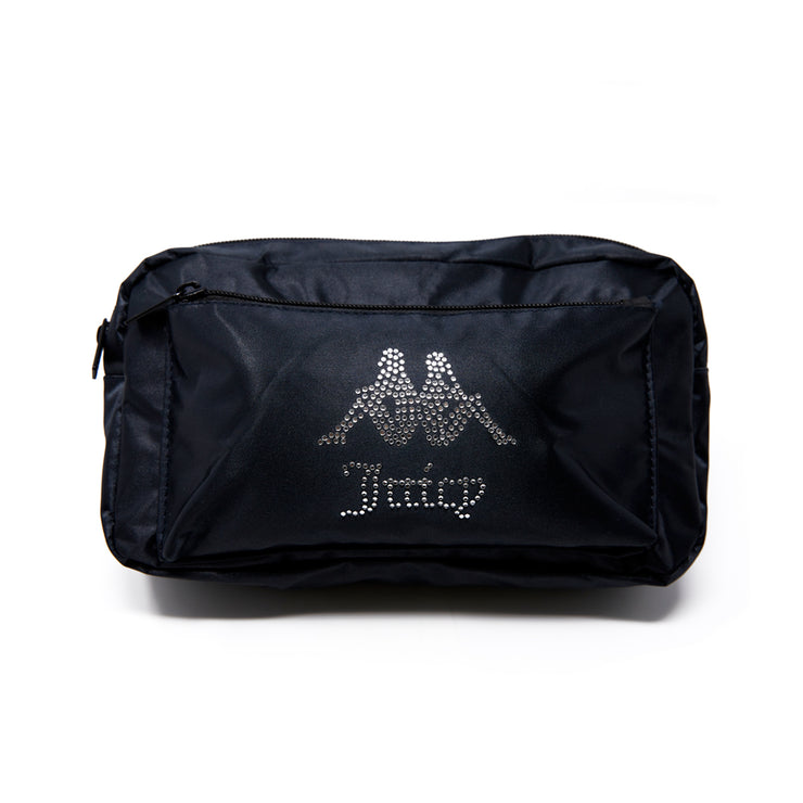 Authentic Juicy Couture Elia Pouch Bag - Black Smoke