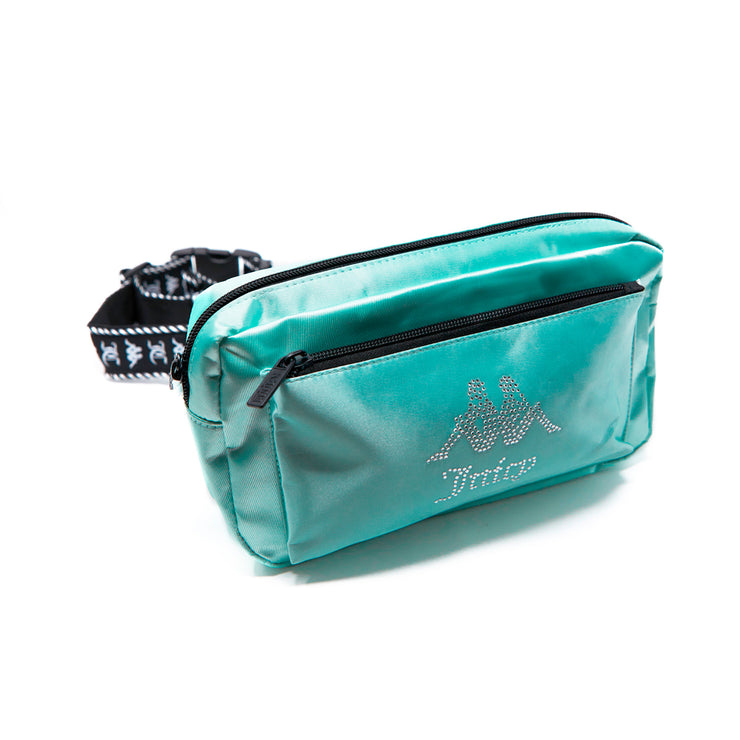 Authentic Juicy Couture Elia Pouch Bag - Green Lt Ocean