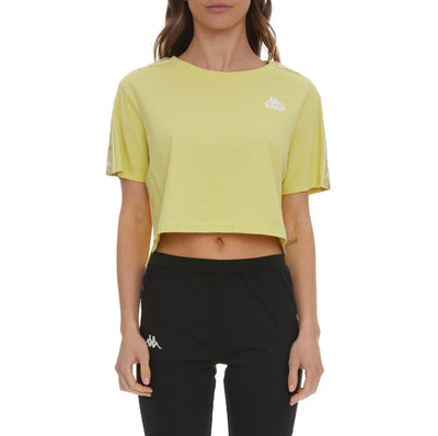 222 Banda Baua T-Shirt - Yellow Lime