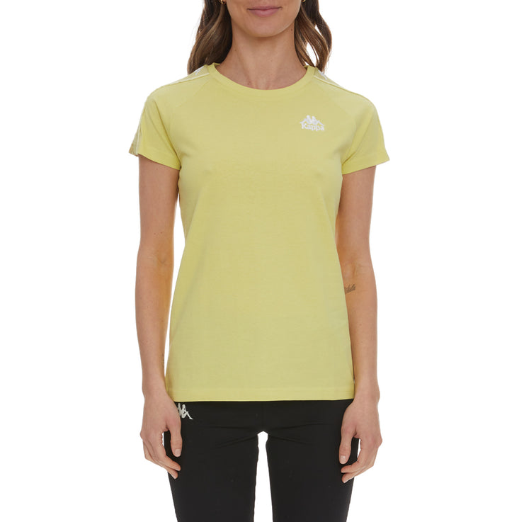 222 Banda Brefan T-Shirt - Yellow Lime