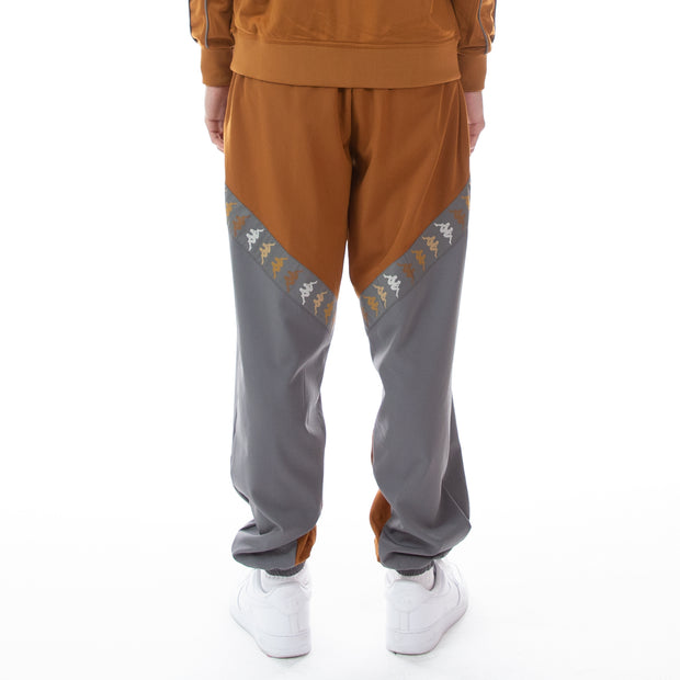 222 Banda Derso Woven Pants - Brown Winter Grey