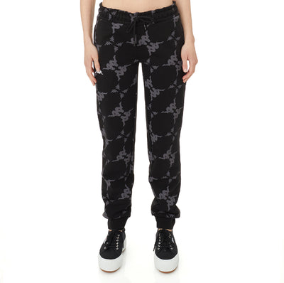 Authentic Elosia Sweatpants - Black Grey White