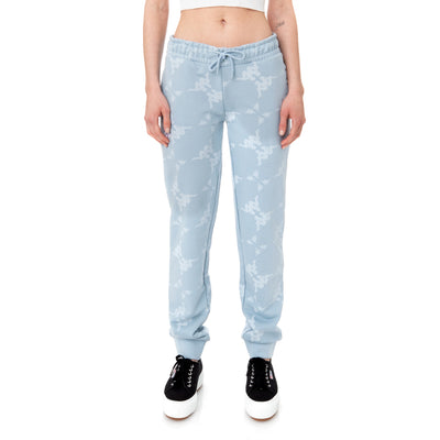 Authentic Elosia Sweatpants - Baby Blue White