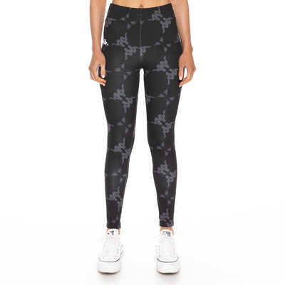 Authentic Bantro Leggings - Black Grey White