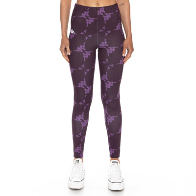 Authentic Bantro Leggings - Violet White