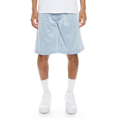 222 Banda Treadwellzin Shorts - Baby Blue White