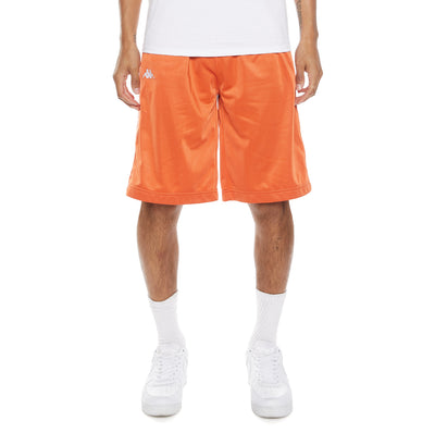 222 Banda Treadwellzin Shorts - Orange Dusty White
