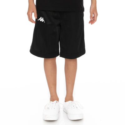 Kids 222 Banda Treadwellzin Shorts - Black Grey White