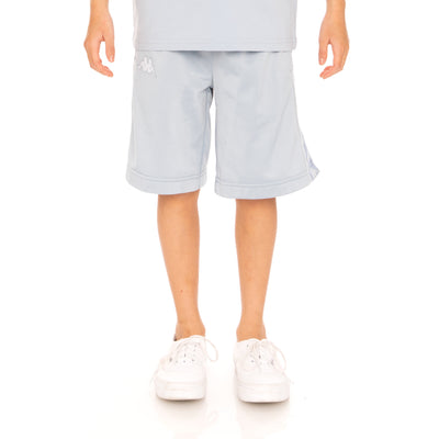 Kids 222 Banda Treadwellzin Shorts - Baby Blue White