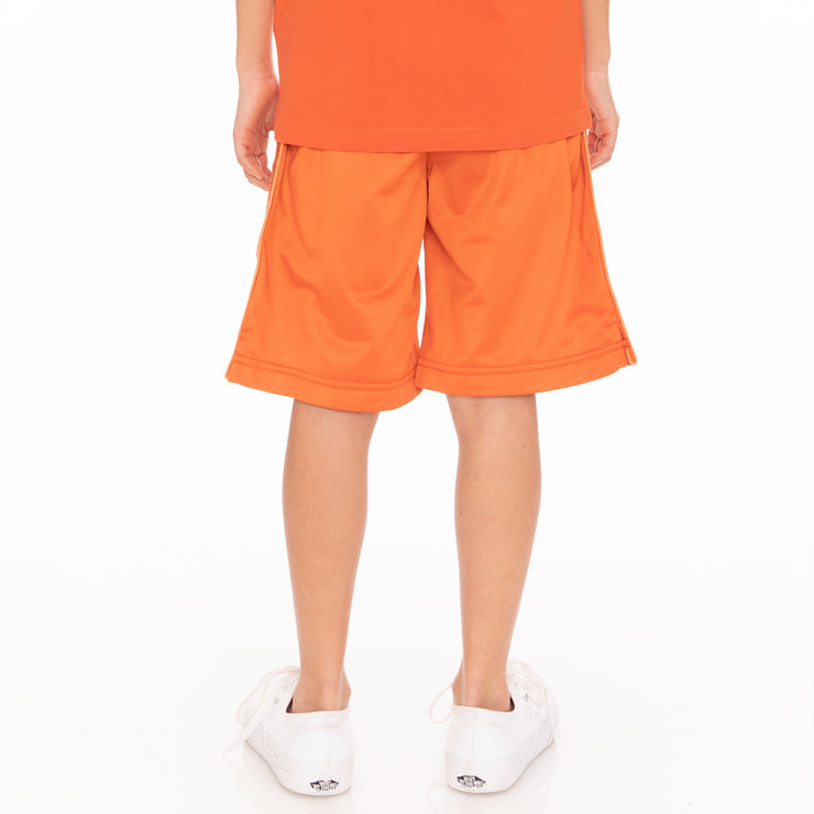 Kids 222 Banda Treadwellzin Shorts - Orange White