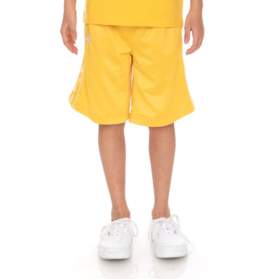 Kids 222 Banda Treadwellzin Shorts - Yellow Vanilla