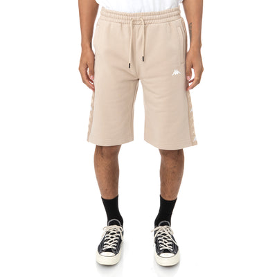 222 Banda Marvzin Shorts - Beige Sand White