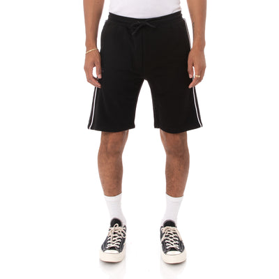 Logo Tape Asved 2 Shorts - Black Grey White