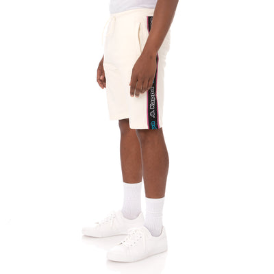 Kappa Logo Tape Asved 2 Shorts - Cream