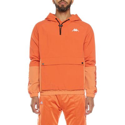 222 Banda Edonin Anorak - Orange Dusty White