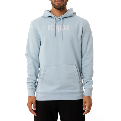 Authentic Haris Hoodie - Baby Blue White