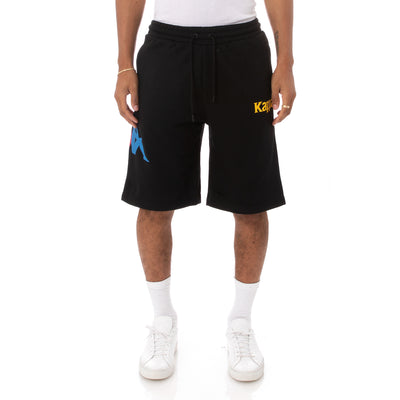 Kappa Authentic Sangone Shorts - Black