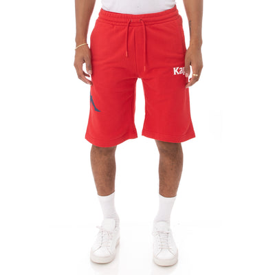 Kappa Authentic Sangone Shorts - Red