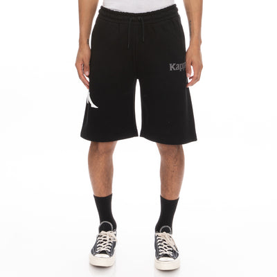 Authentic Sangone Shorts - Black Grey White