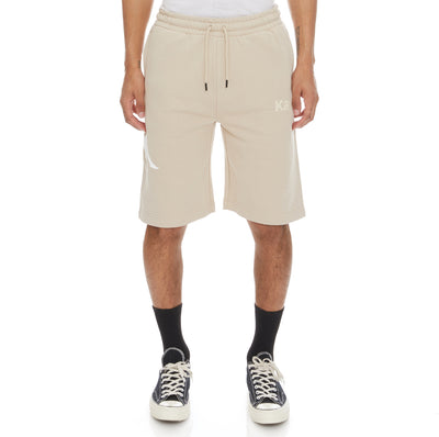 Authentic Sangone Shorts - Beige White