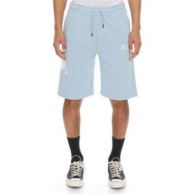 Authentic Sangone Shorts - Baby Blue White