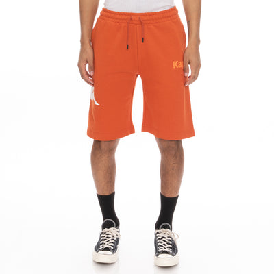 Authentic Sangone Shorts - Orange White