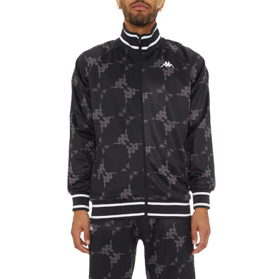 Authentic Belice Track Jacket - Black Grey White