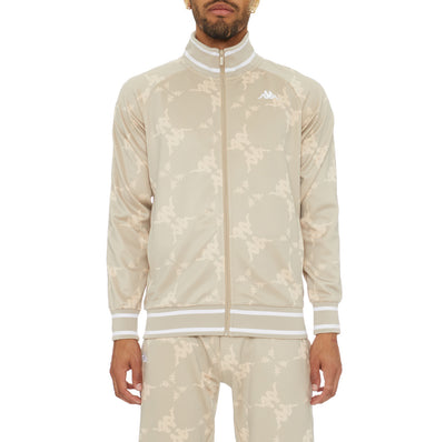 Authentic Belice Track Jacket - Beige White