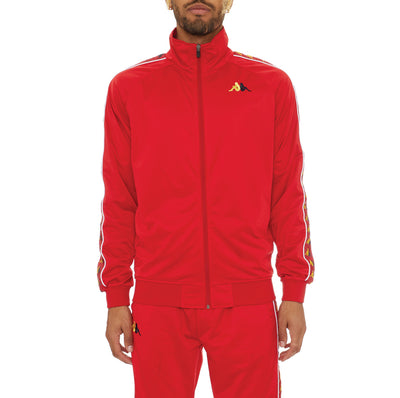 222 Banda Carambie Track Jacket - Red