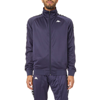 222 Banda Anniston Track Jacket - Navy Black