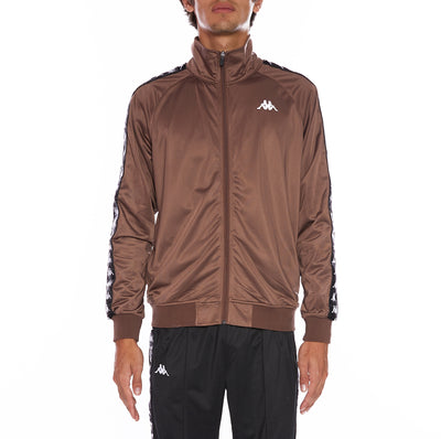 222 Banda Anniston Track Jacket - Brown
