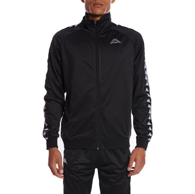 Kapp 222 Banda Anniston Track Jacket - Black Black