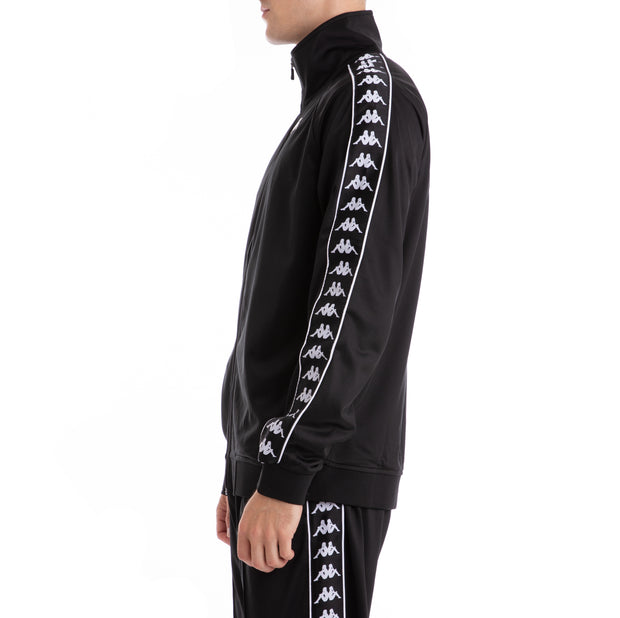 Kappa 222 Banda Anniston Black Black Track Jacket