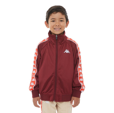 Kids 222 Banda Anniston Track Jacket - Red Dahlia