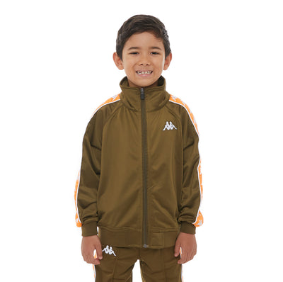 Kids 222 Banda Anniston Track Jacket - Green Oliva