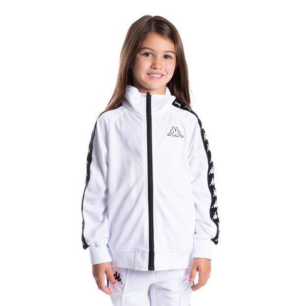 Kids 222 Banda Anniston Track Jacket White Black