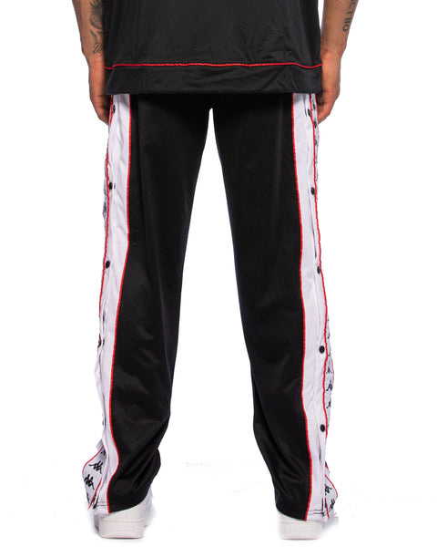 222 Banda Big Bay Pant Black White Red