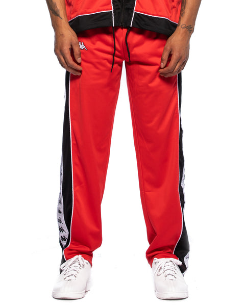 222 Banda Big Bay Pant Red Black White