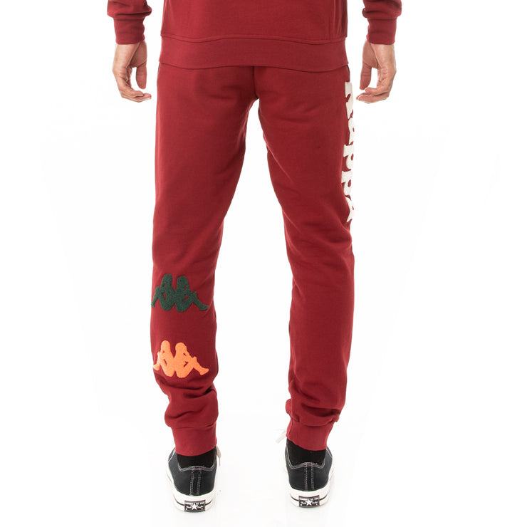 Kappa Authentic Kaios Sweatpants - Red