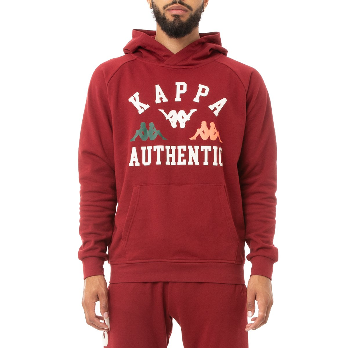Kappa Authentic Kawar Hoodie - Red