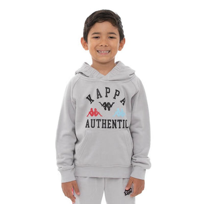 Kids Authentic Kawar Hoodie - Grey