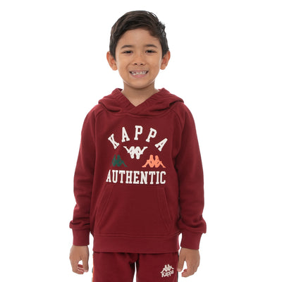 Kids Authentic Kawar Hoodie - Red